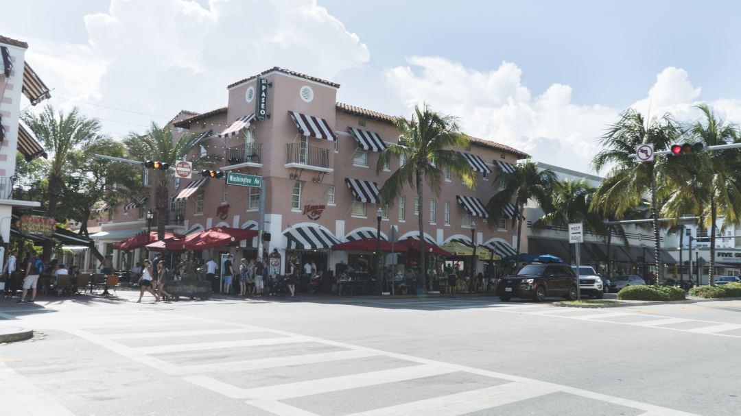Le restaurant Havana 1957