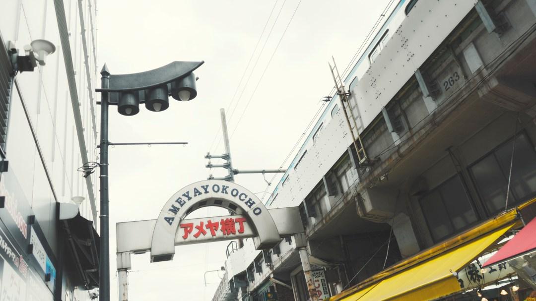 le marché d'Ameyoko