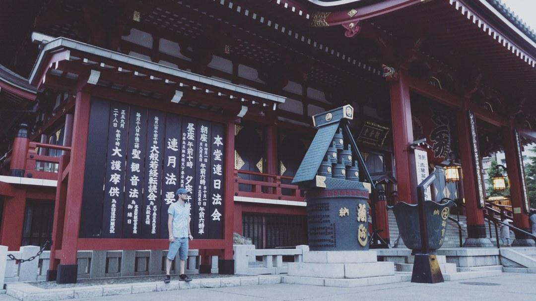 Eatmytravel devant le temple du Senso-ji