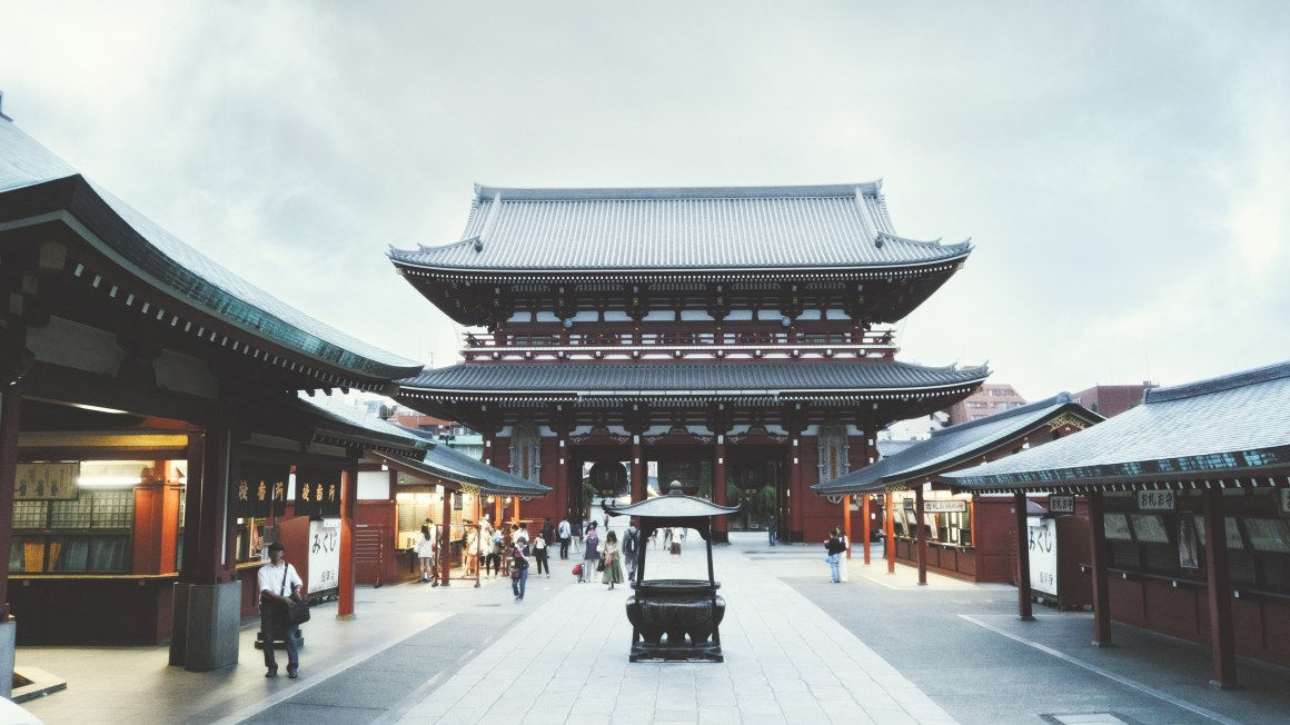 Le temple du Senso-ji