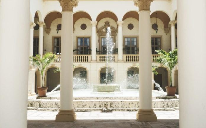 les fontaines du Biltmore hotel
