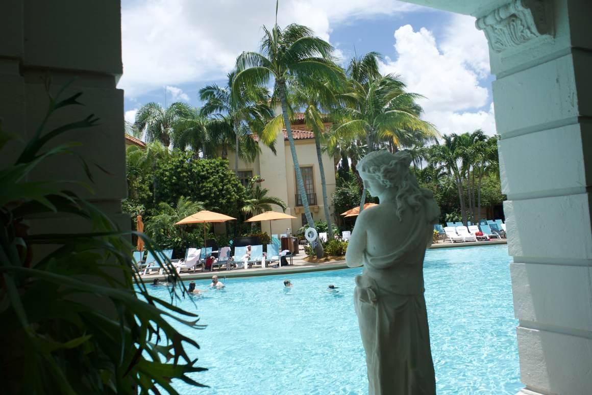 la piscine du Biltmore hotel