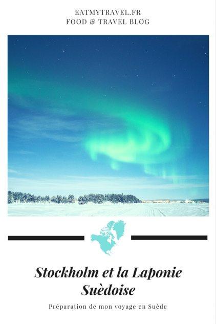 Préparation de mon voyage en Suède