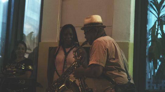 musiciens dans les rues de la havane