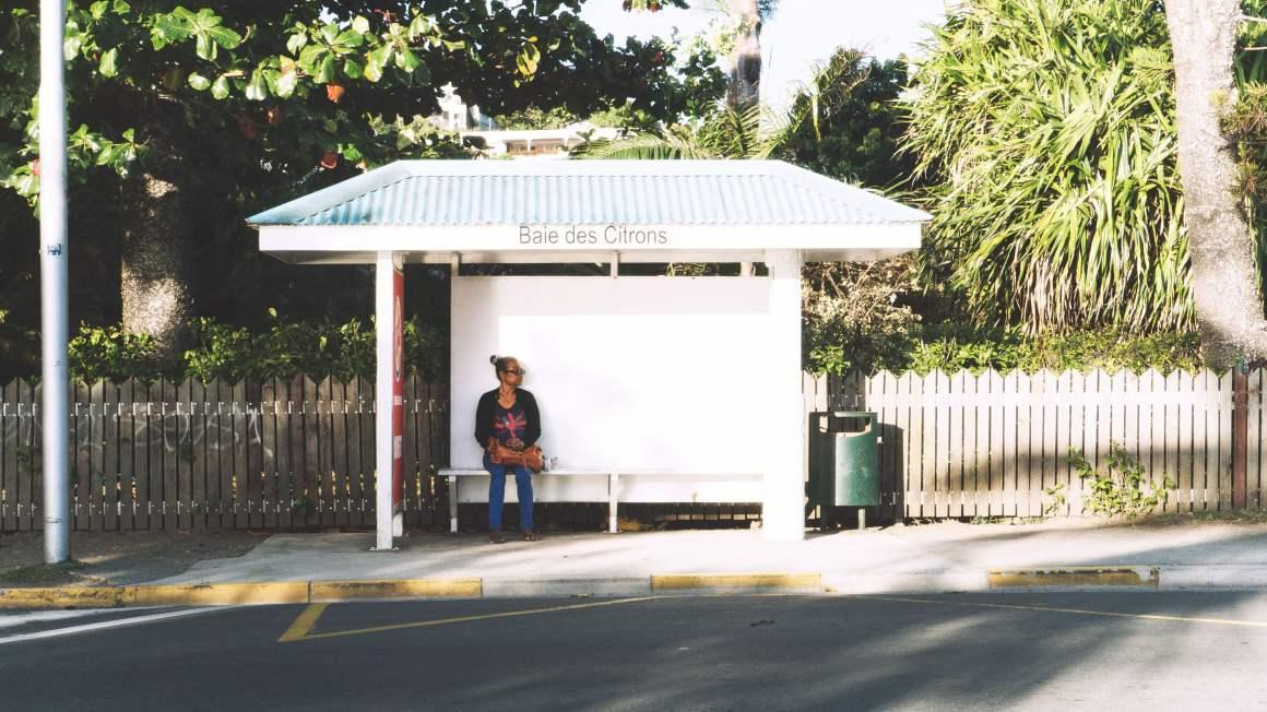 Arrêt de bus Nouméa