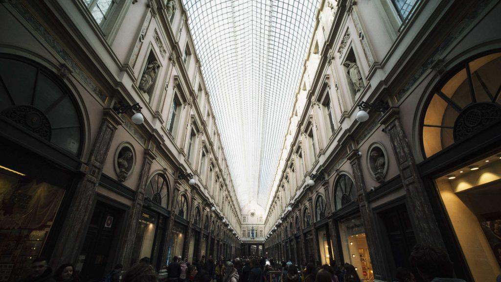 les galeries royales Saint Hubert de Bruxelles