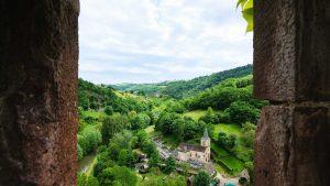 verdure village de belcastel
