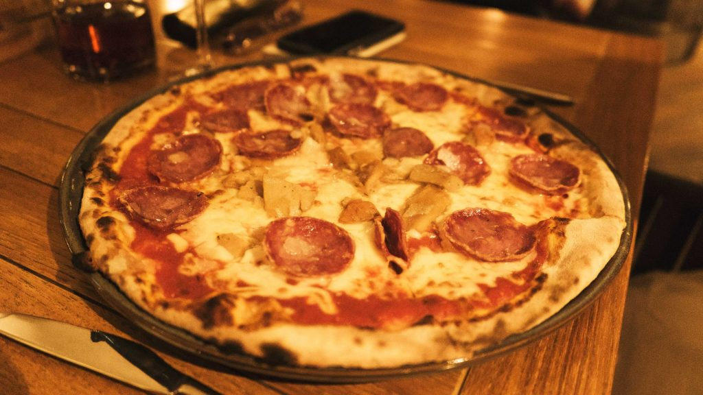 La pizza du Bussola
