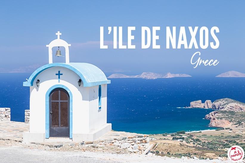L'île de Naxos par Céline du blog Je Papote