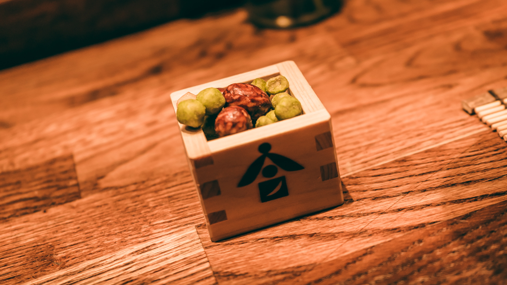 apéritif au restaurant Ryukishin
