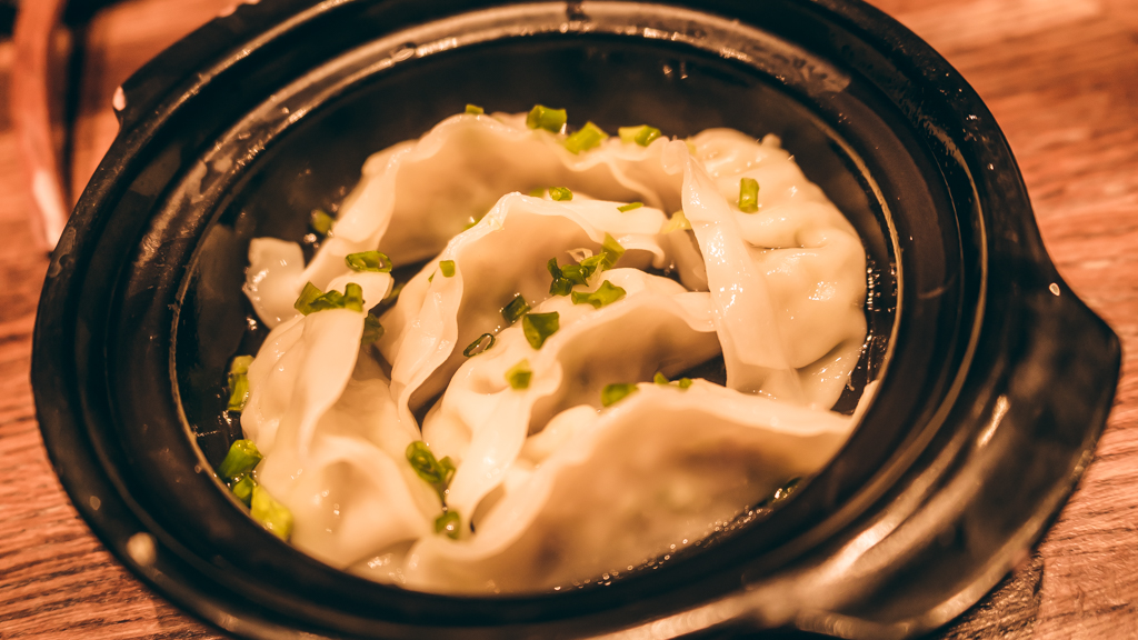 raviolis bouillis du restaurant Ryukishin