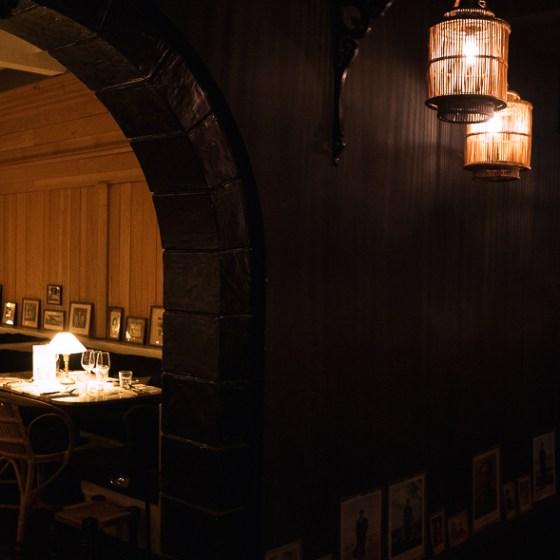 décoration du restaurant bambou