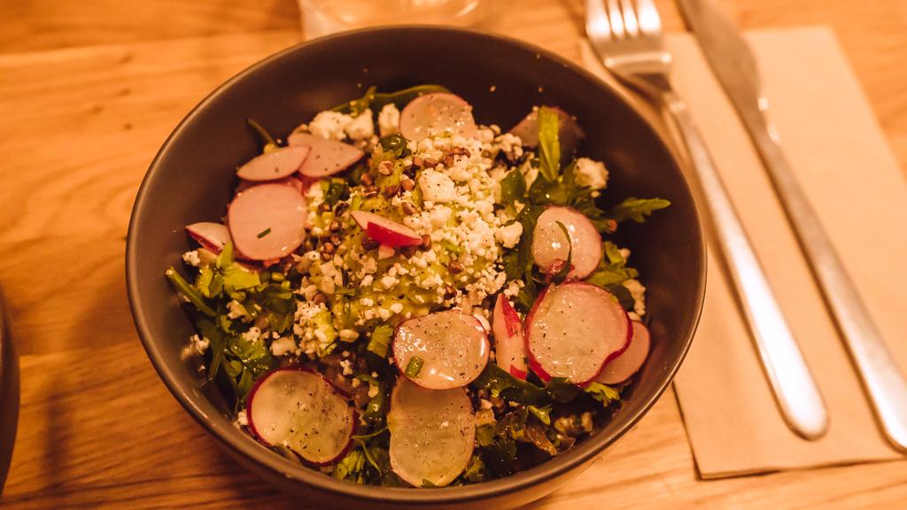 restaurant Sarra petite salade