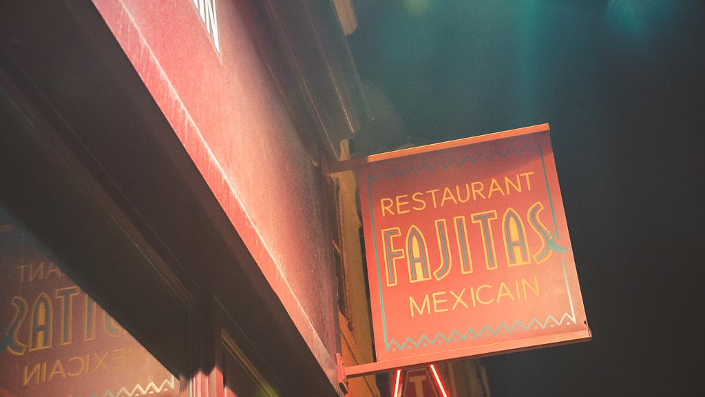 devanture restaurant fajitas