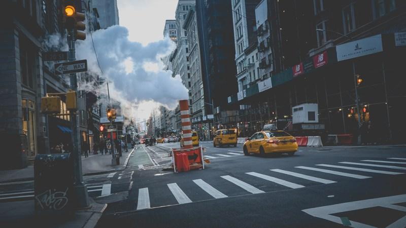 taxis dans la ville de new york