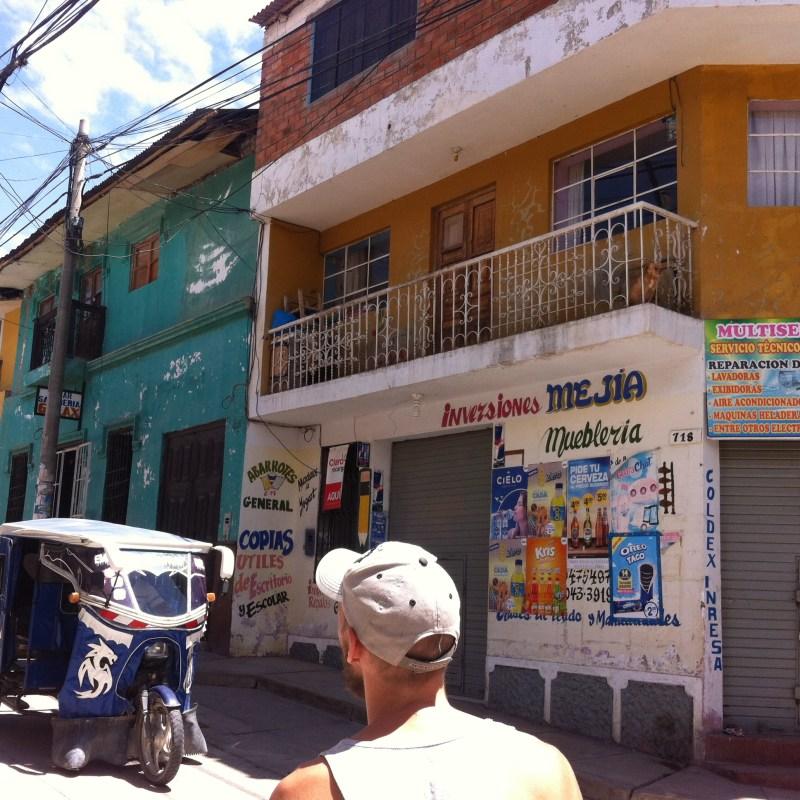 Antoine en Amérique du sud