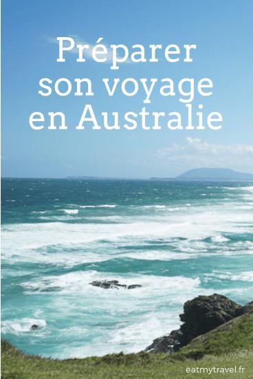 PInterest préparation voyage en australie