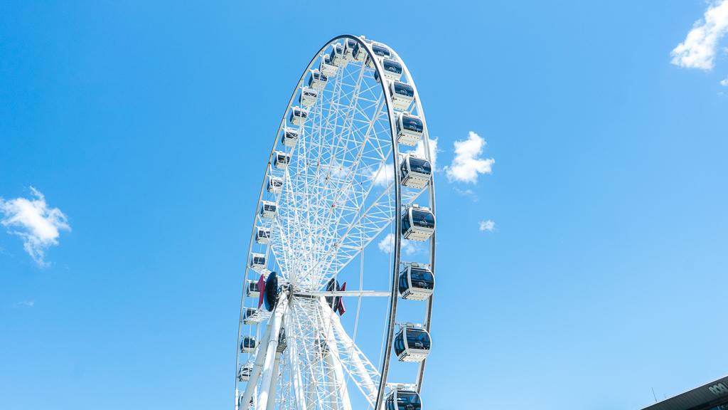 la grande roue de Brisbane