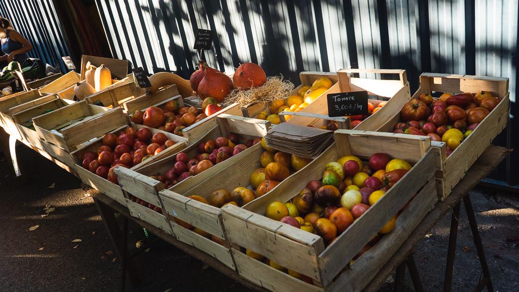 marché de Chirols