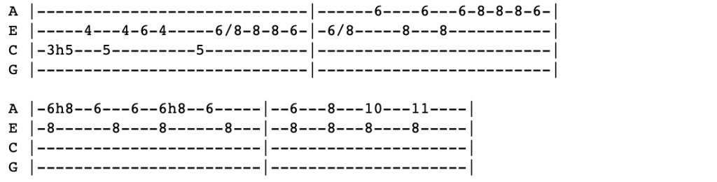 get familiar ukulele tabs