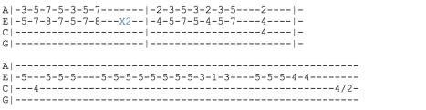 fall out boy ukulele