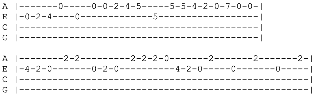 johnny cash i walk the line ukulele tabs