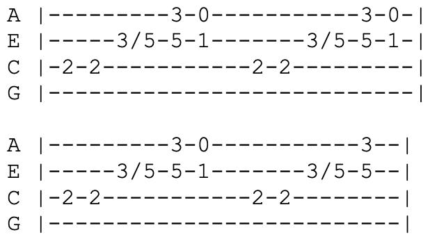 the beatles come together ukulele tabs