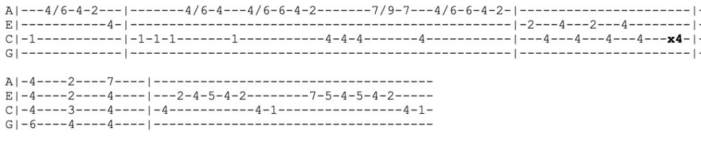 tame impala - the less i know the better - ukulele tabs