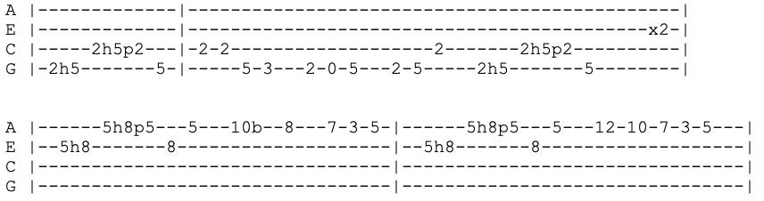 eric clapton - layla - ukulele tabs