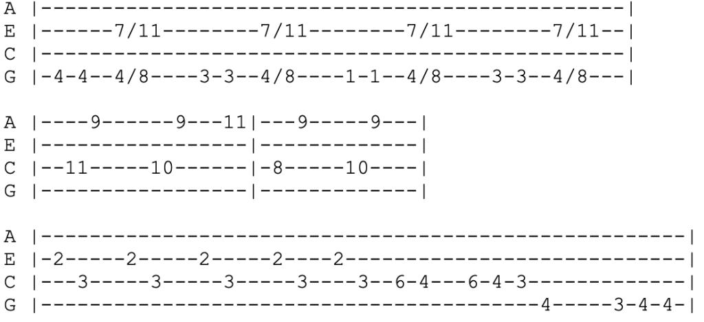 blink 182 - i miss you - ukulele tabs