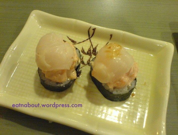 Kingsway Sushi: Scallop Pearl
