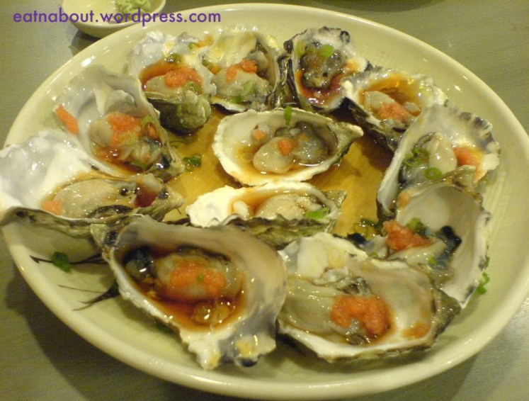 Kingsway Sushi: Oysters