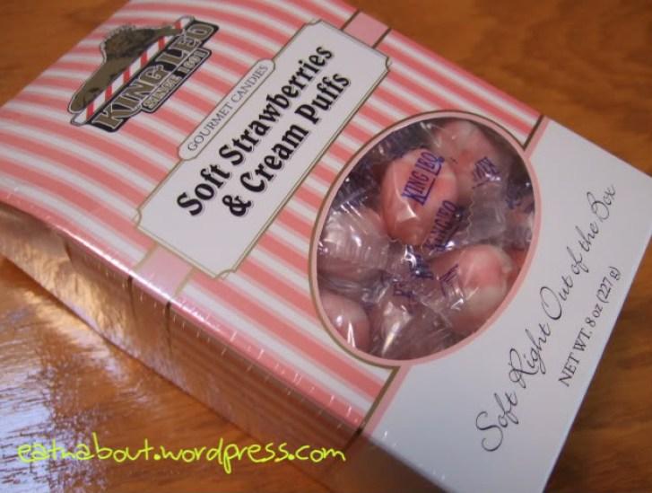 King Leo Soft Strawberries & Cream Puffs