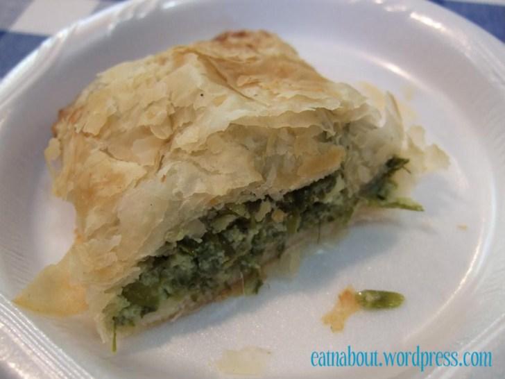 Greek Food Festival: Spanakopita