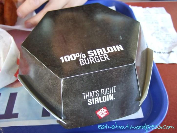 Jack in the Box: Sirloin Cheeseburger