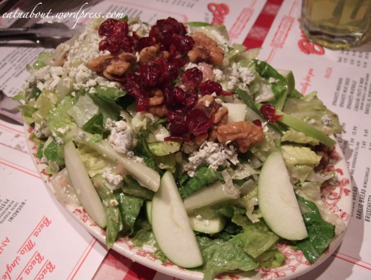 Buca di BEPPO: Apple Gorgonzola Salad