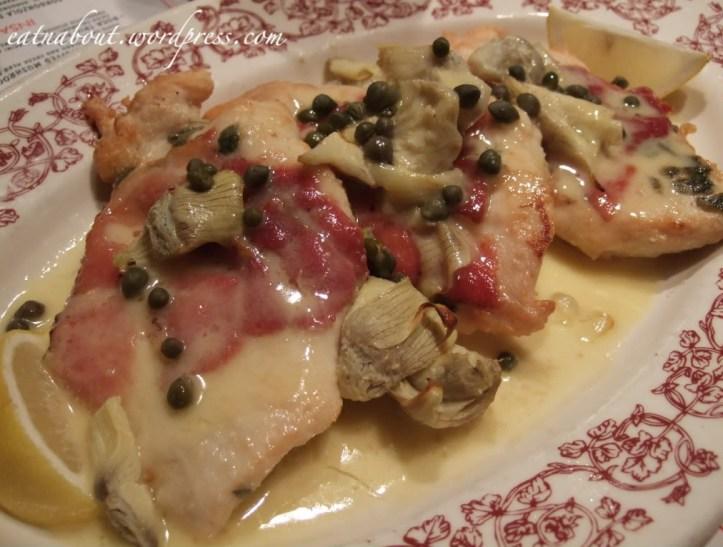 Buca di BEPPO: Chicken Saltimbocca