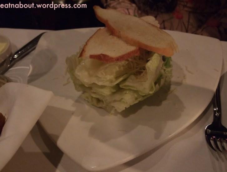 Seasons in the Park: Caesar Salad