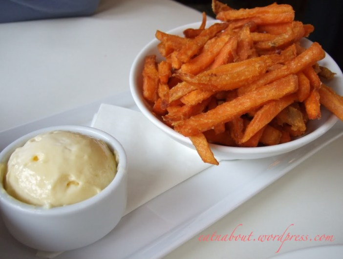 The Fish House at Stanley Park: Yam fries with Garlic Aioli