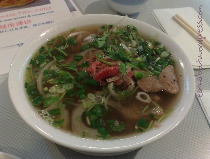 An Nam Restaurant: House Special Pho