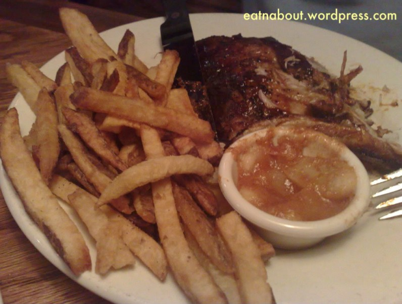 The Outback Steakhouse: Baby Back Ribs