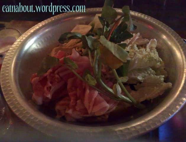 Toratatsu Tapas Bistro: Sukiyaki