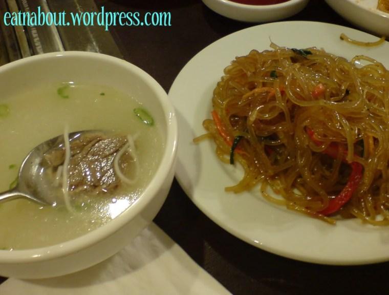 Kim Ga Nae: Japchae with beef soup