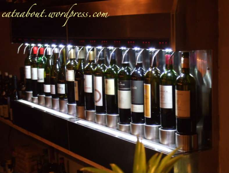 Regional Tasting Lounge: Enomatic wine machine