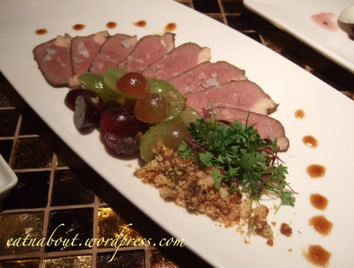 Regional Tasting Lounge: Oak Barrel Smoked Breast of Magret Duck (BC)