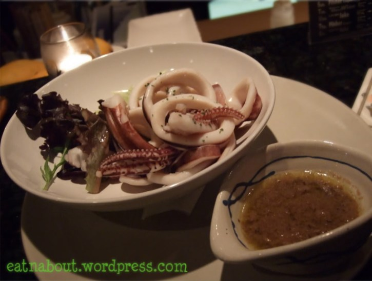 Alpha Sushi: Cuttlefish Anchovy Dip