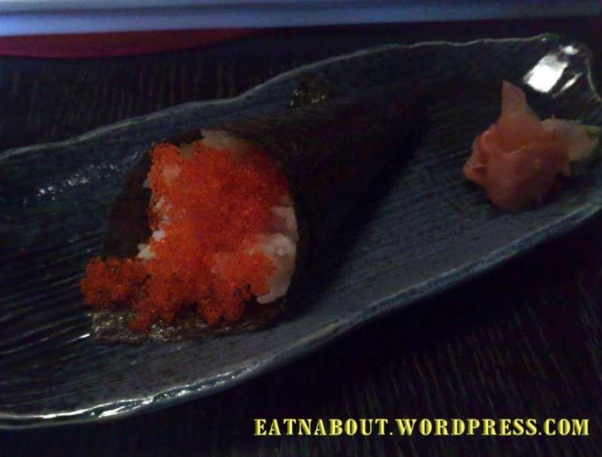 Nobusan Japanese Tapas-Bar: Tobiko Cone
