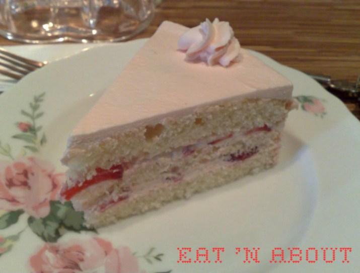 Berry Good Cafe: Strawberry Shortcake