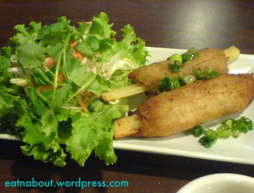 Halong Bay Vietnamese Restaurant:  Sugar Cane Shrimp
