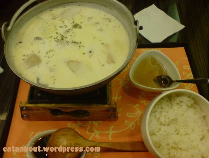 Pearl Castle: Milk Seafood Hotpot with Cheese